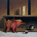 Still Life with Fall Leaf